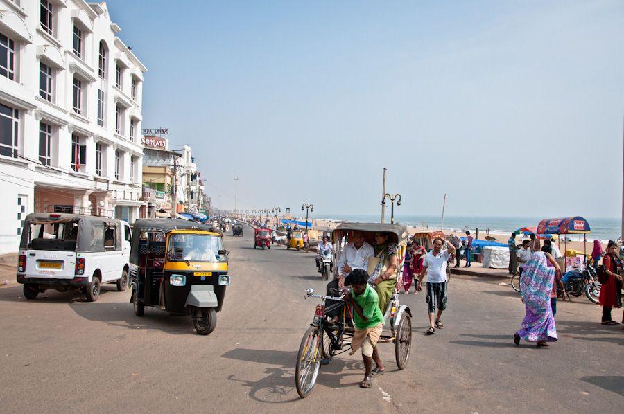 India, Orissa, playa, que ver en Puri, beach