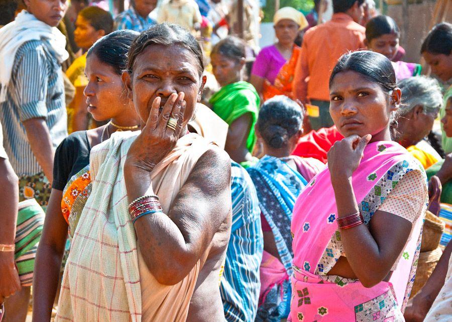 tribes, adivasi, tribus, India, market