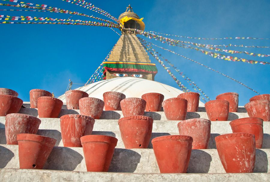 viaje, nepal, kathmandu, que ver, bodhnath, estupa