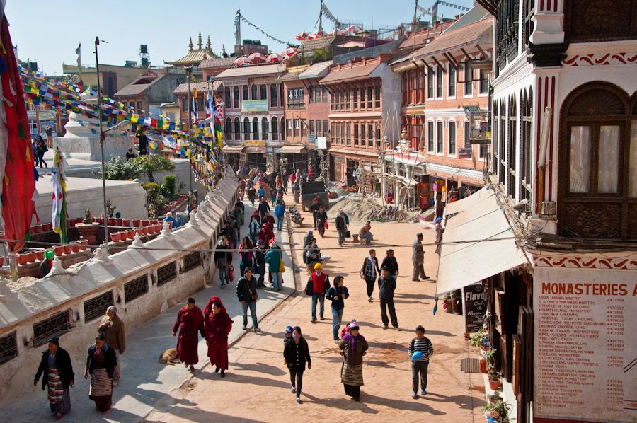 viaje, nepal, kathmandu, bodnath, budismo, regligion