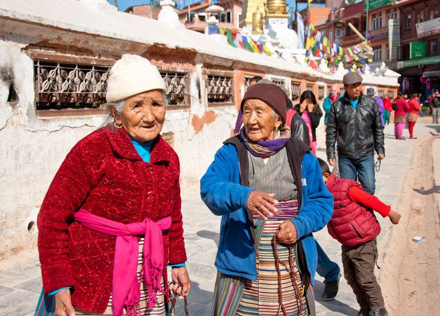 viaje, nepal, kathmandu, tibetanas, oracion, budismo