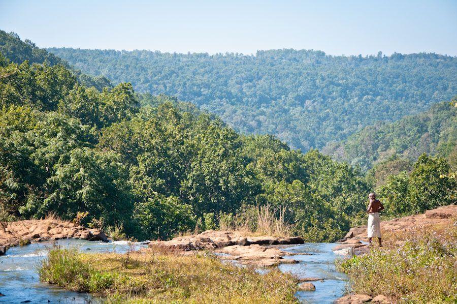 viaje, India, cascada, naturaleza, rio, sagrado, Madhya Pradesh