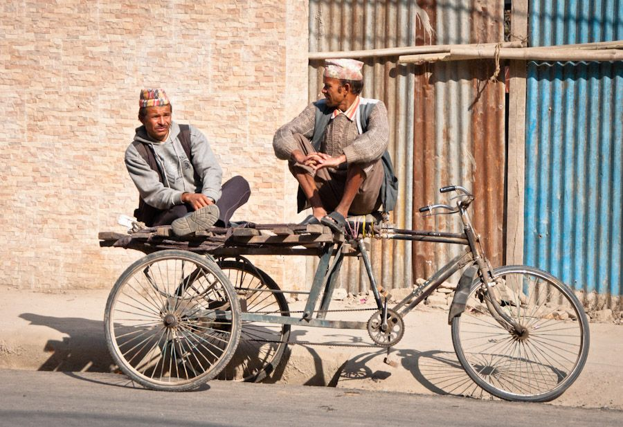viaje, kathmandu, bicicleta, costumbres, nepal