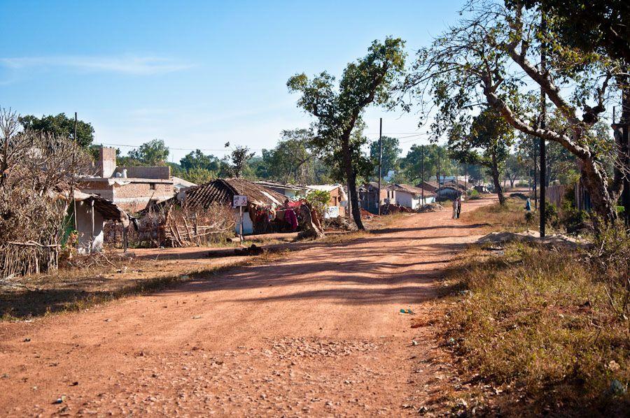 viaje, India, pueblos, rural, casitas, bosque, naturaleza