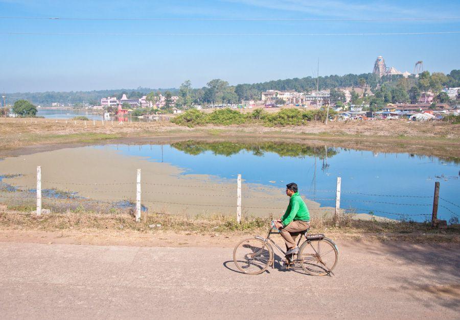 viaje, India, rio, sagrado, Narmada,