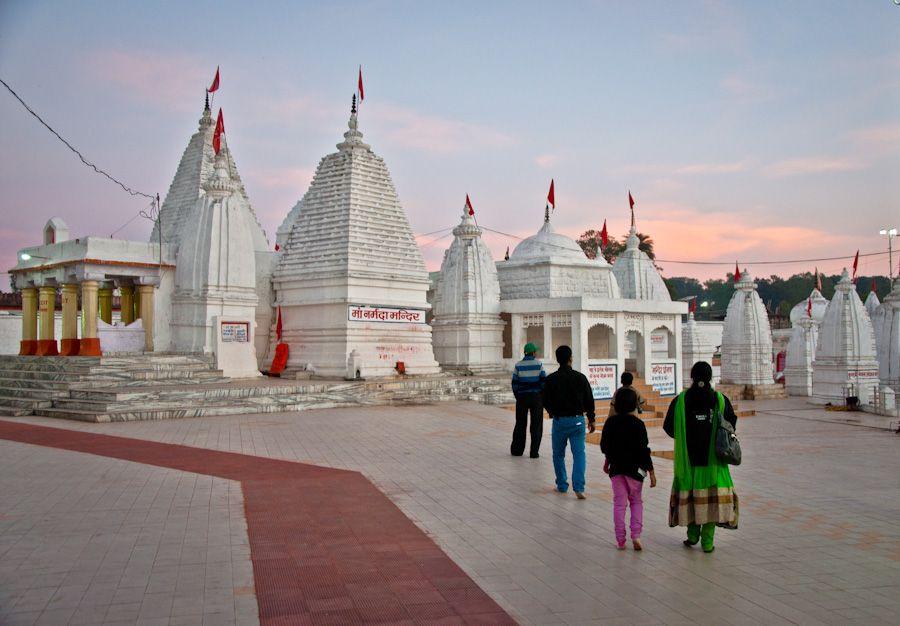 viaje, India, Narmada, Madhya Pradesh, templo