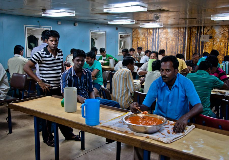 viaje, India, andaman, comida, barco, tercera clase, bunk