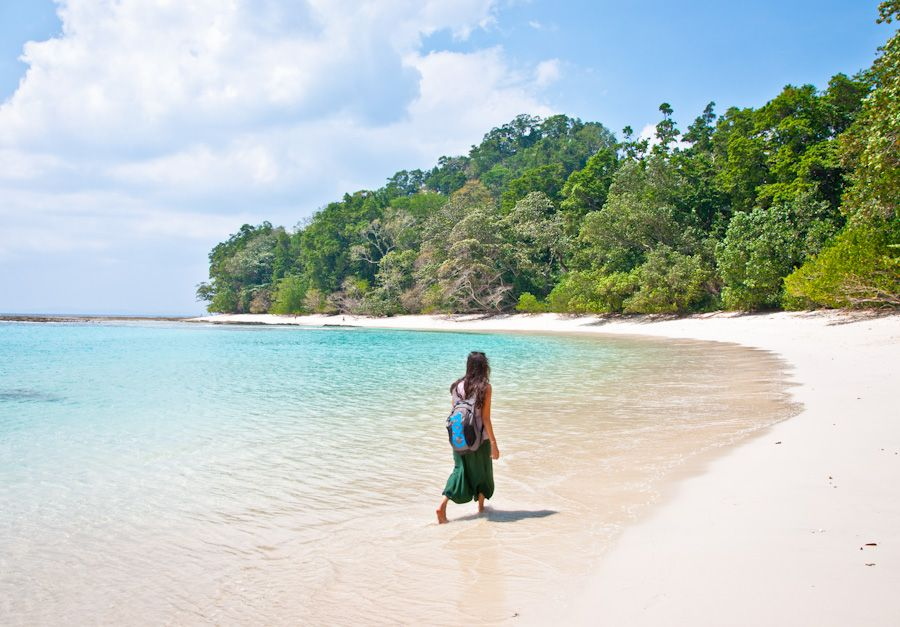 India, Havelock, andaman, playas, mejores playas, blue lagoon,