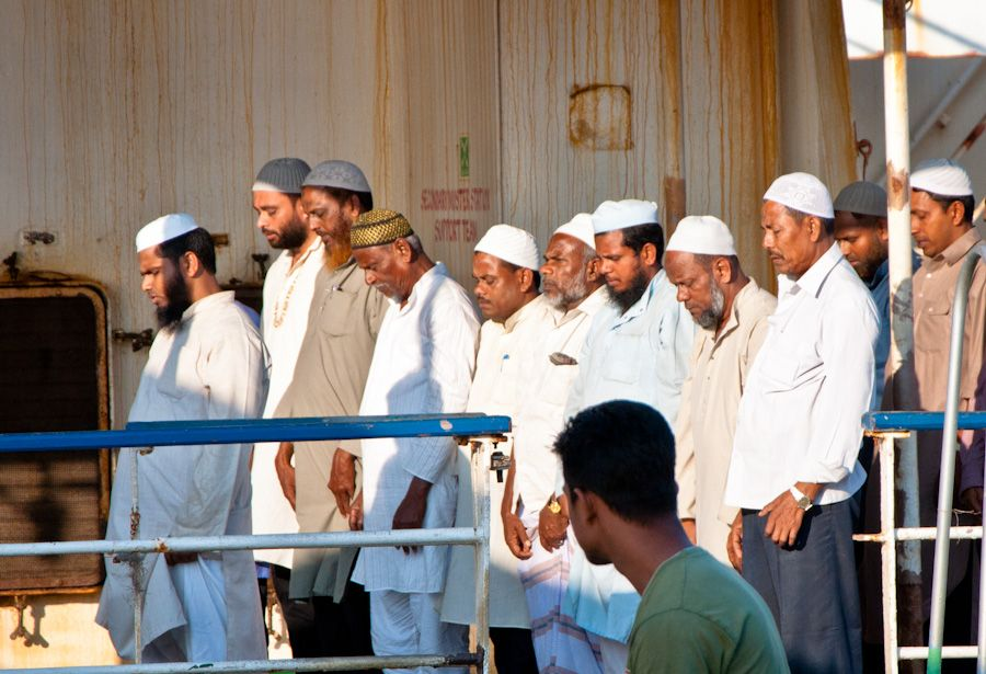 india, musulmanes, religion, oracion, hindues