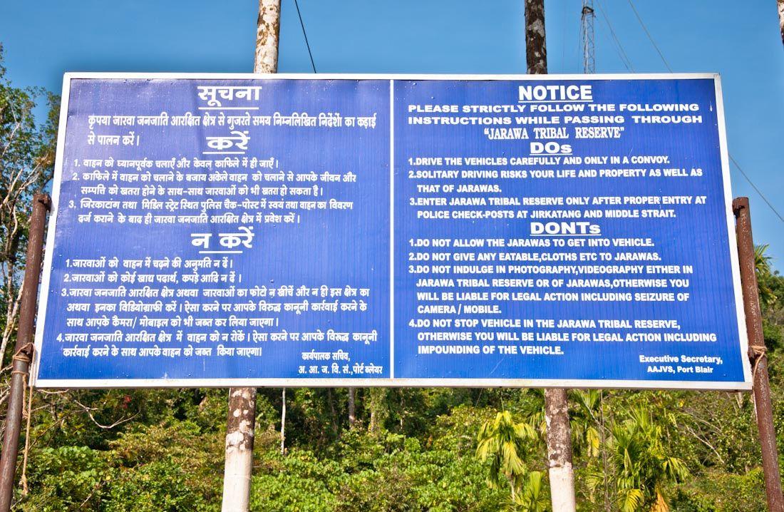 jarawa, reserva, andaman trunk road, tribus, safaris humanos