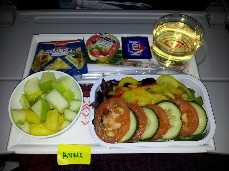 comida, vegetariana, vegana, aerolinea, avion