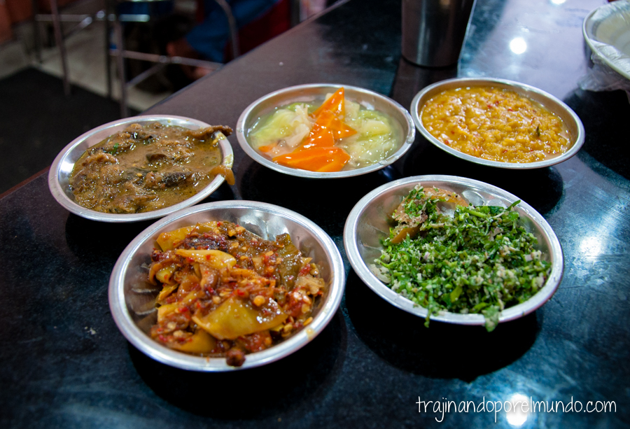 Comida de Sri Lanka: arroz con curry