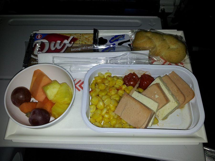 La comida vegetariana de los aviones - Desayuno sorpresa madrid ...
