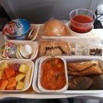 Menús vegetarianos a 10.000 metros de altura