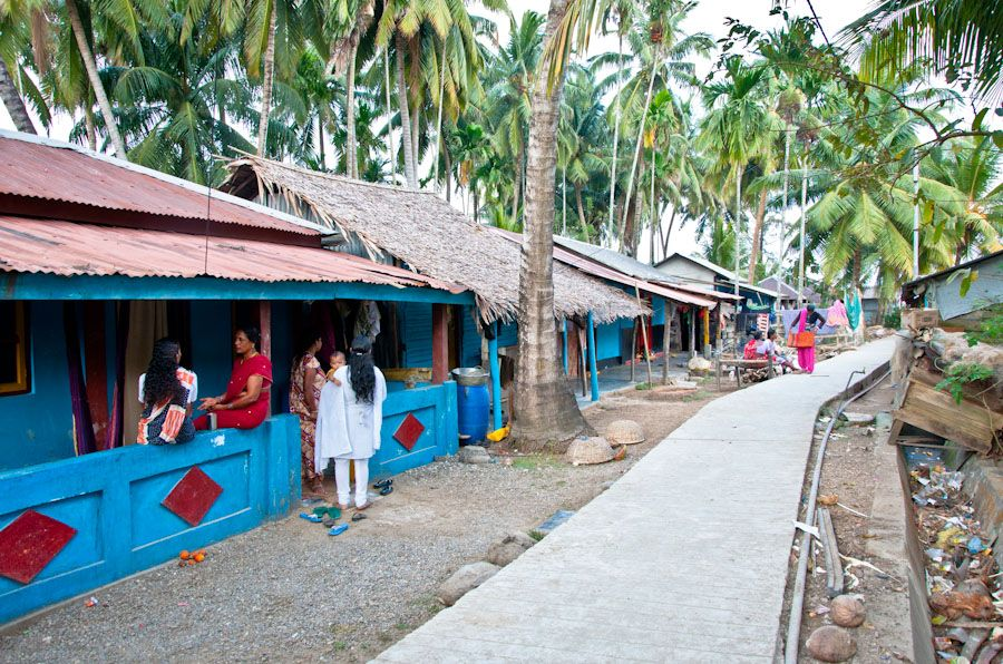 India, Andaman, village, rangat