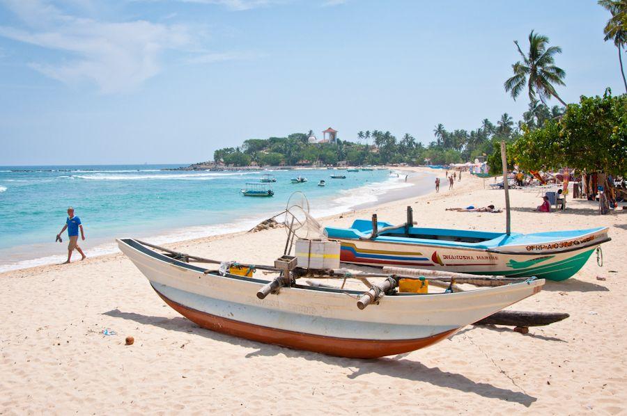 Viajar a Sri Lanka: playas del sur