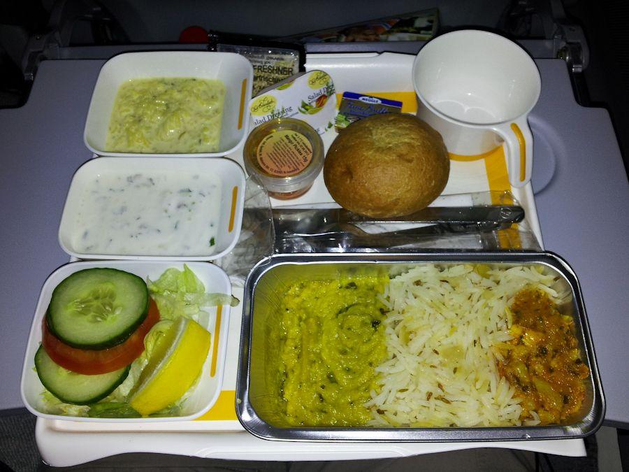 comida, vegetariana, vuelo, aviones