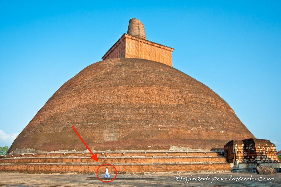 Anuradhapura, viajar, gratis, entrada, pagar