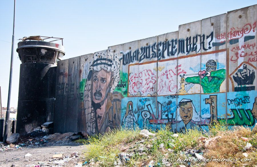 Ramallah, palestina, Kalandia, checkpoint,