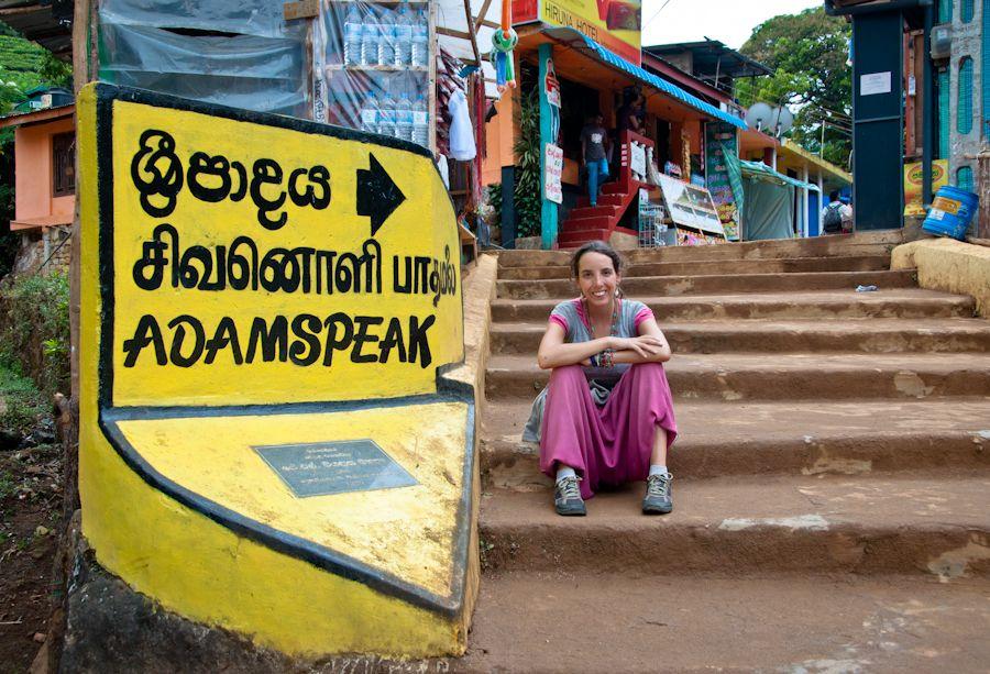 Sri Lanka, peregrinaje, cansancio, trekking, dolor, Adam's Peak