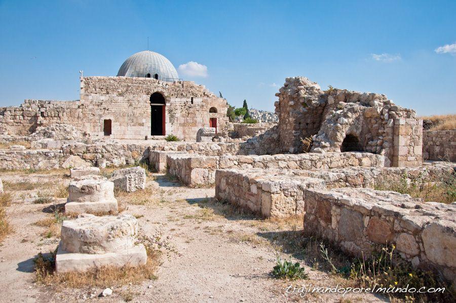 viaje, jordania, que ver en amman, ciudadela, arqueologia