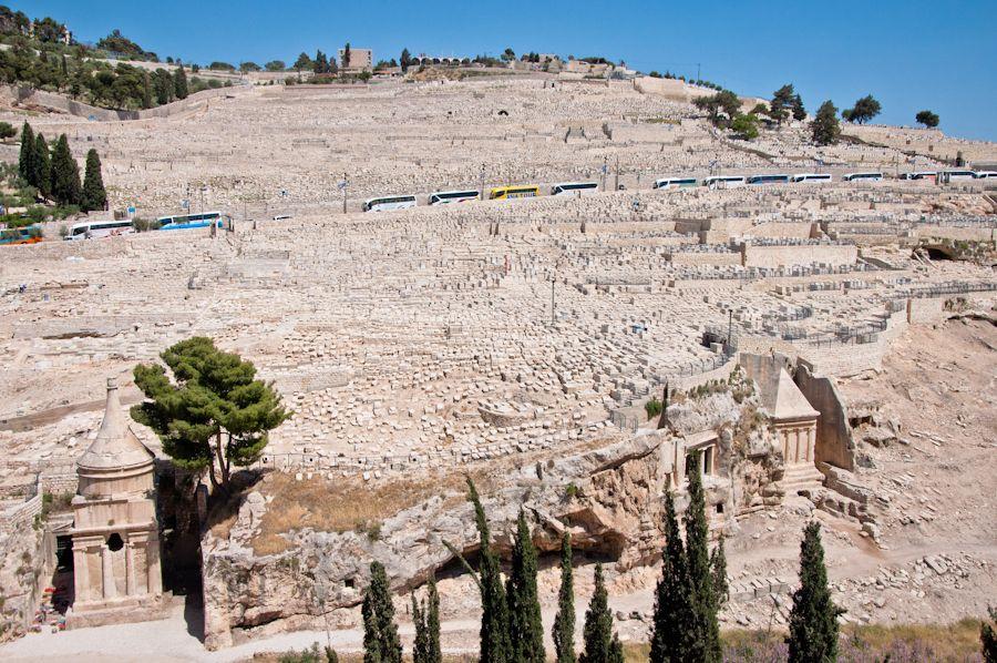Jerusalen, que ver, cementerio, getsemaní