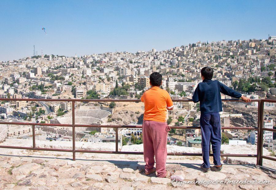 viaje, jordania, que ver, amman, vistas, capital, ciudad