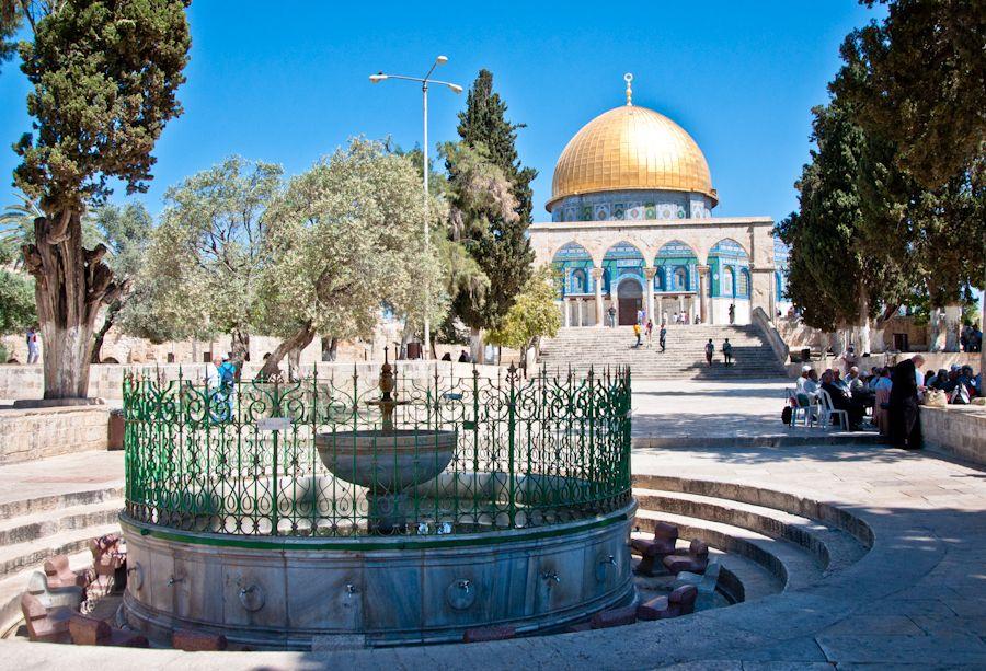 Jerusalen, cupula de la roca, Monte del Templo, que ver