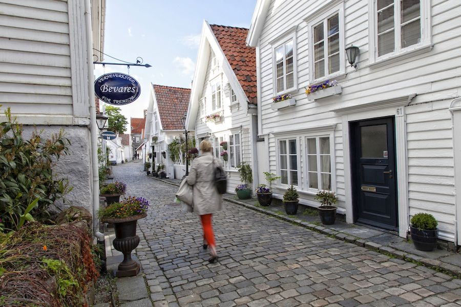 Gamle Stavanger, que ver en Stavanger, Noruega