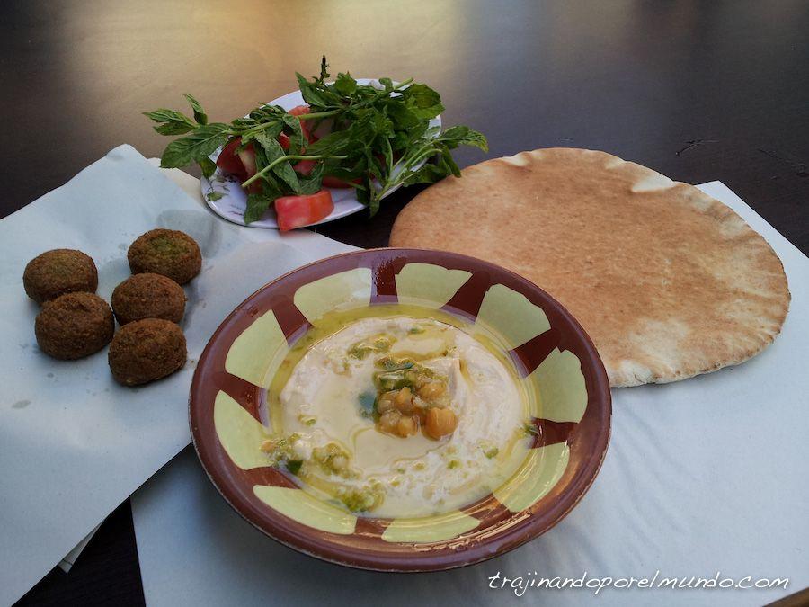 viajar, jordania, comer, barato, restaurante, amman