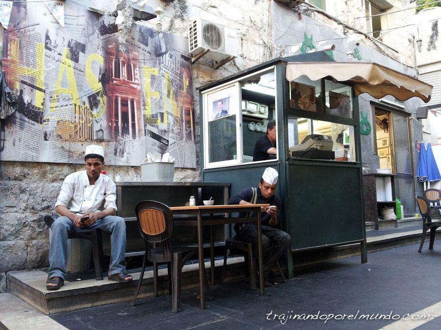 mejor restaurante, amman, jordania, comer, barato