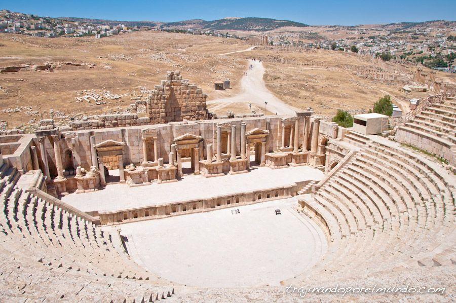 Jordania, Amman, que ver, excursion, visita, gerasa