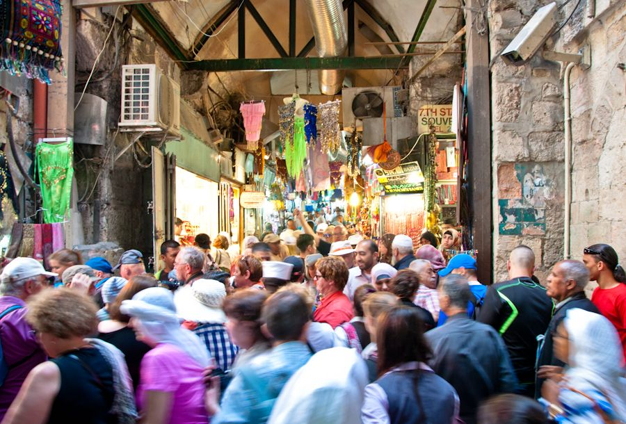 peregrinos, Jerusalen, zoco, bazar, callejuelas, que ver