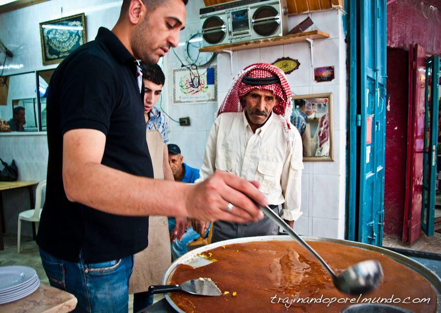 kadaif, dulce, arabe, palestina, cisjordania