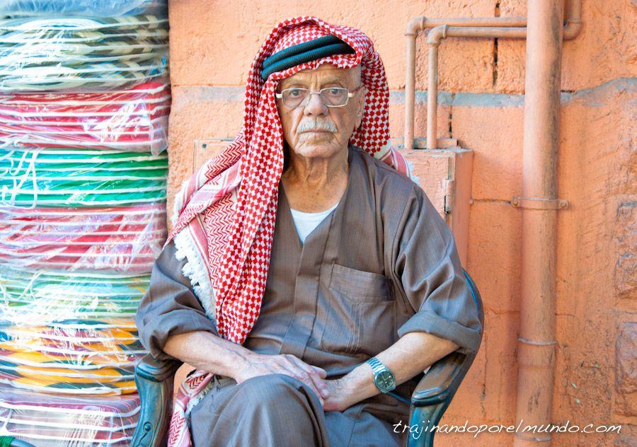 viajar, jordania, amman, cultura, palestina, pañuelo