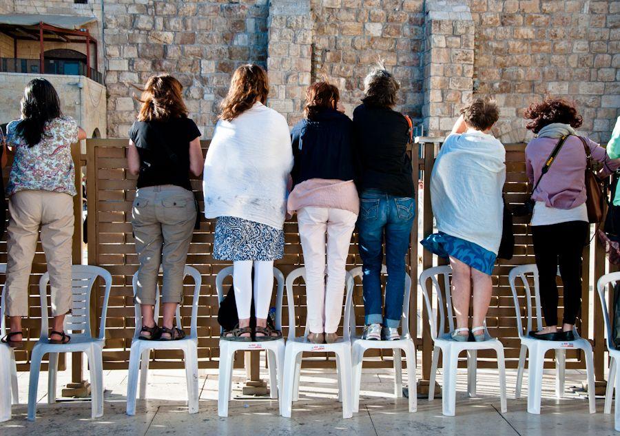 Jerusalen, turistas, muro de las lamentaciones, muro occidental