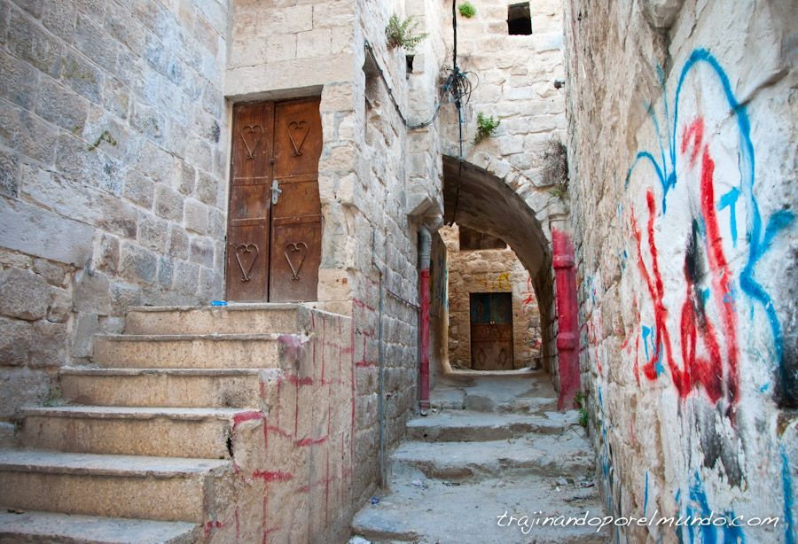 nablus, al-qasaba, casco antiguo, old city, calles