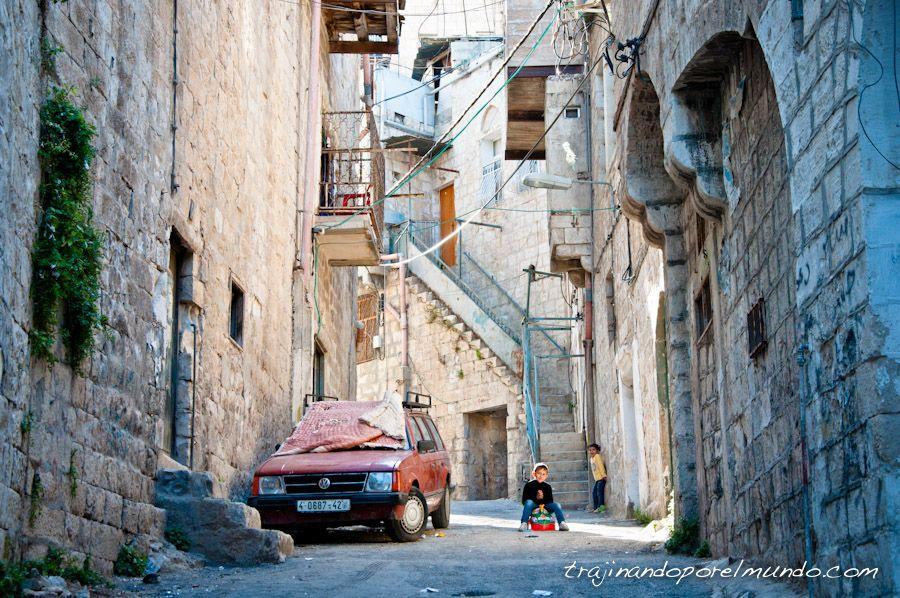 Viajar, Palestina, Cisjordania, guerra, voluntariado