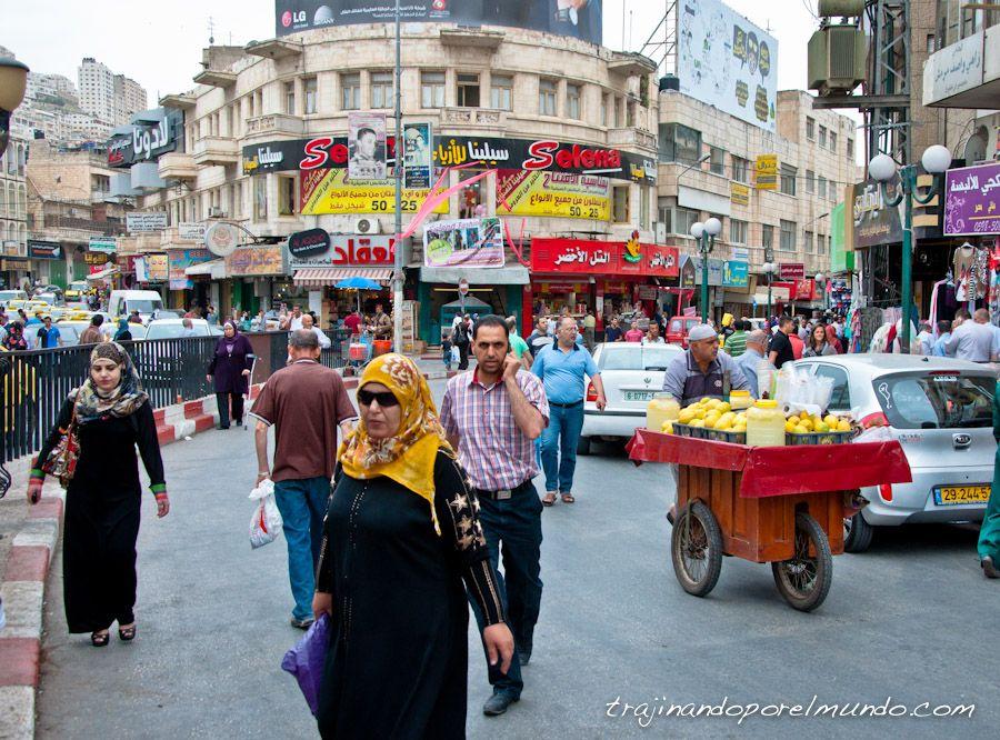 Palestina, Cisjordania, que ver, Nablus, ocupacion