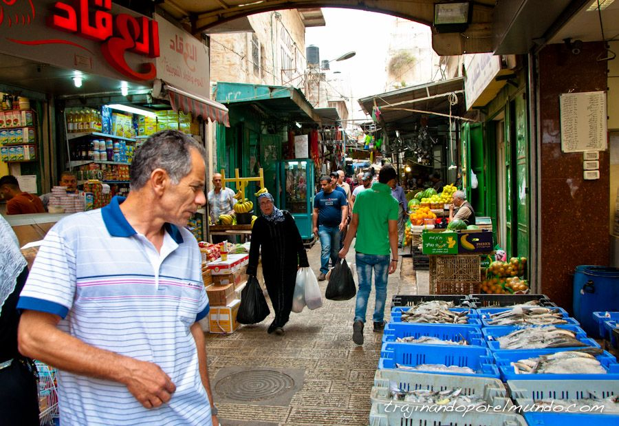 Palestina, viaje, cisjordania, zoco, mercado