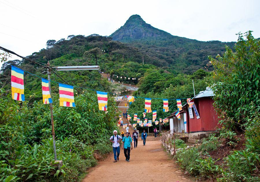 Sri Pada, viaje, Sri Lanka, trekking, Adam's Peak