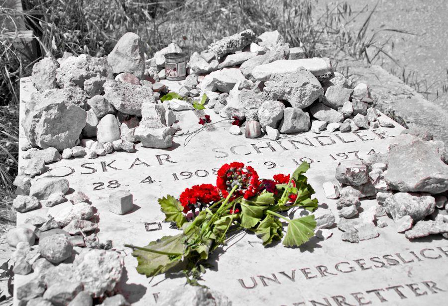 Jerusalen, Oskar Schindler, cementerio, cristiano, piedras