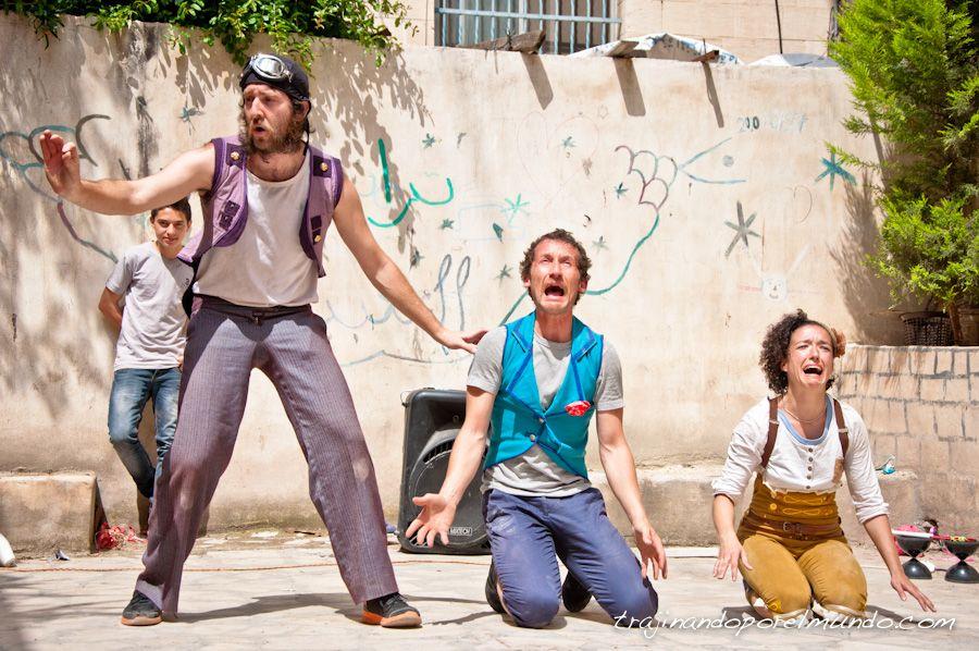 artistas, palestina, ong, voluntarios, nablus
