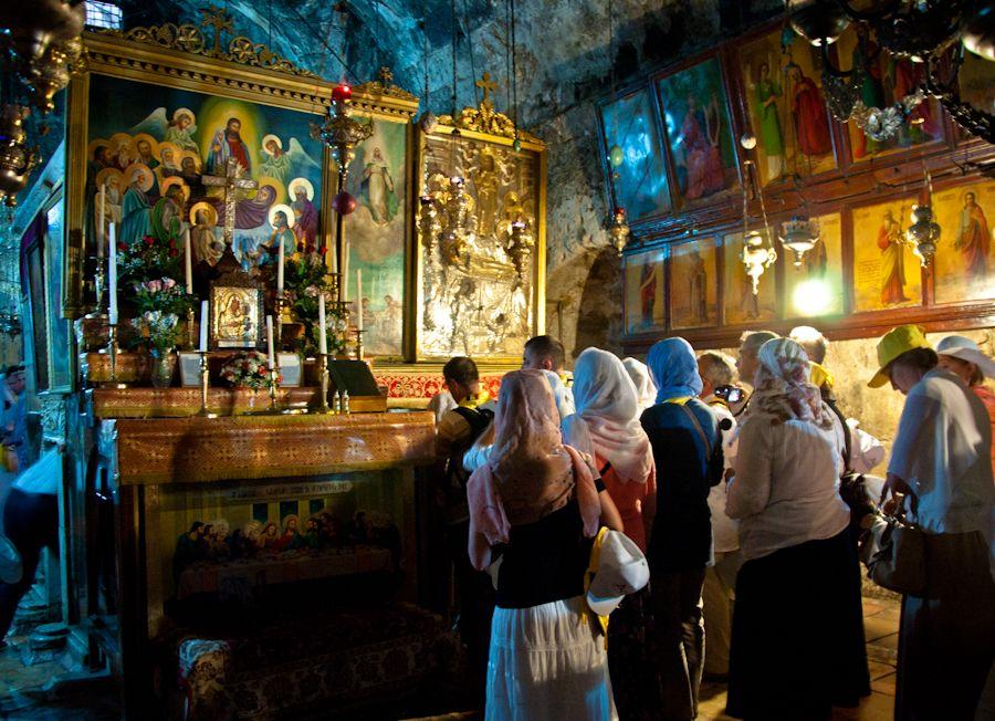 lugares santos, virgen maria, jerusalen, que ver, tumba