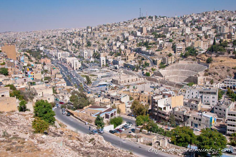 viaje, jordania, amman, que ver, teatro
