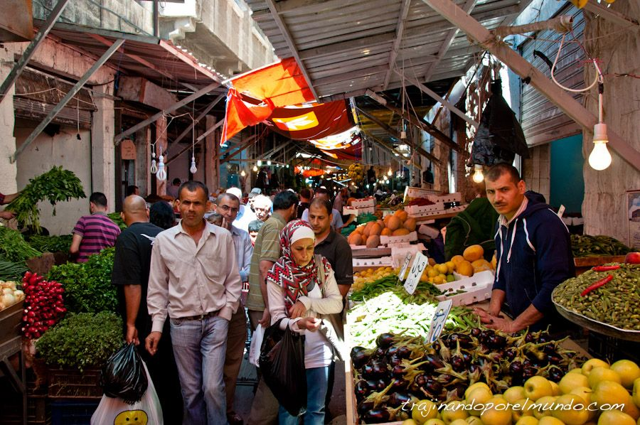 viaje, Jordania, que ver, amman, mercados