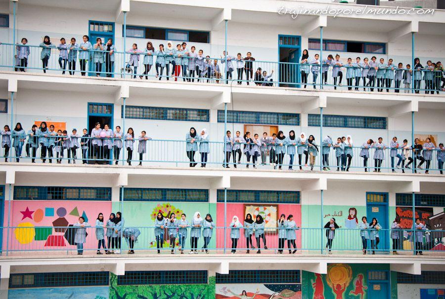 Balata, Nablus, Cisjordania, ONU, Palestina, refugiados, niños