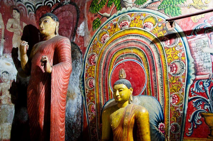 viaje, Sri Lanka, budismo, que ver, templos, cuevas, dambulla