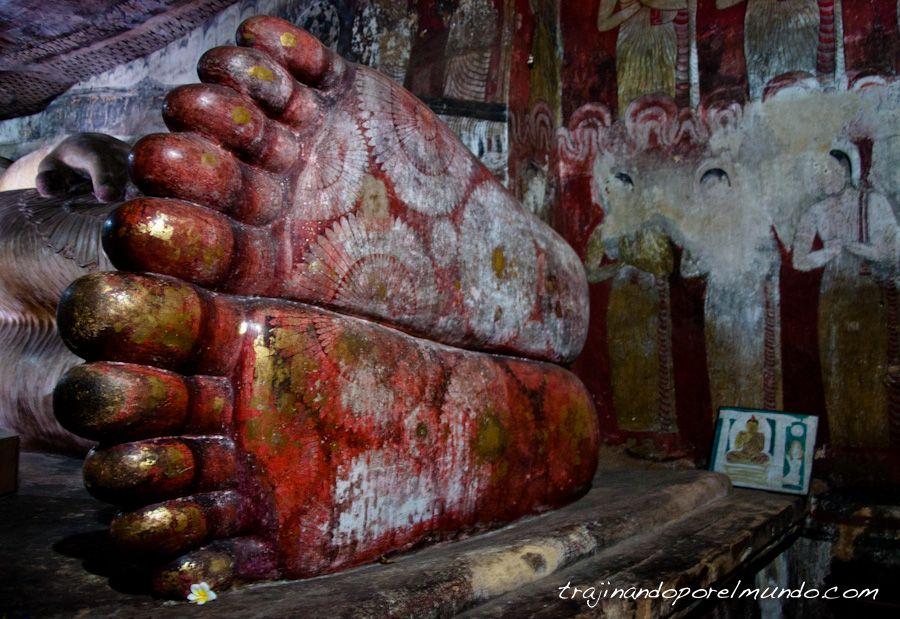 Cuevas de Dambulla, Sri Lanka, que ver, budismo, templo