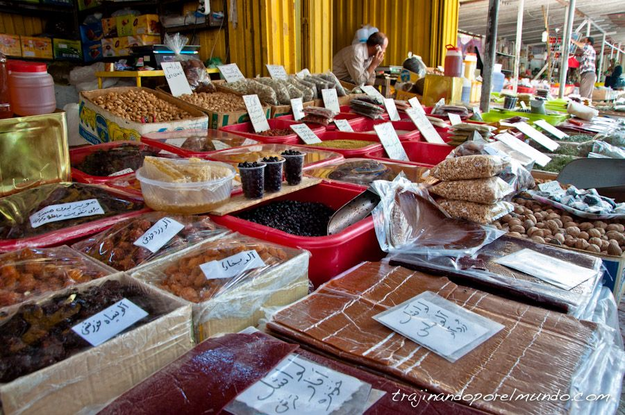 Iran, dulces, fruta, compras, comida, platillos, mercado
